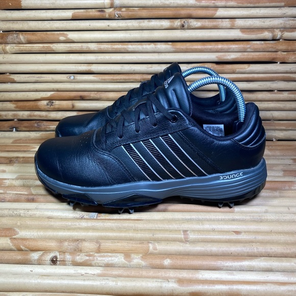 Adidas 360 Bounce Golf Shoes Black Mens Size 8.5